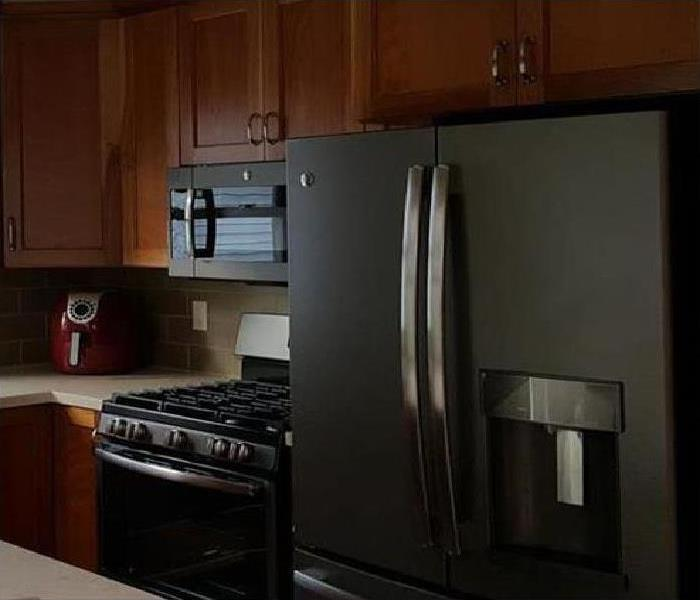 remodeled kitchen after a fire